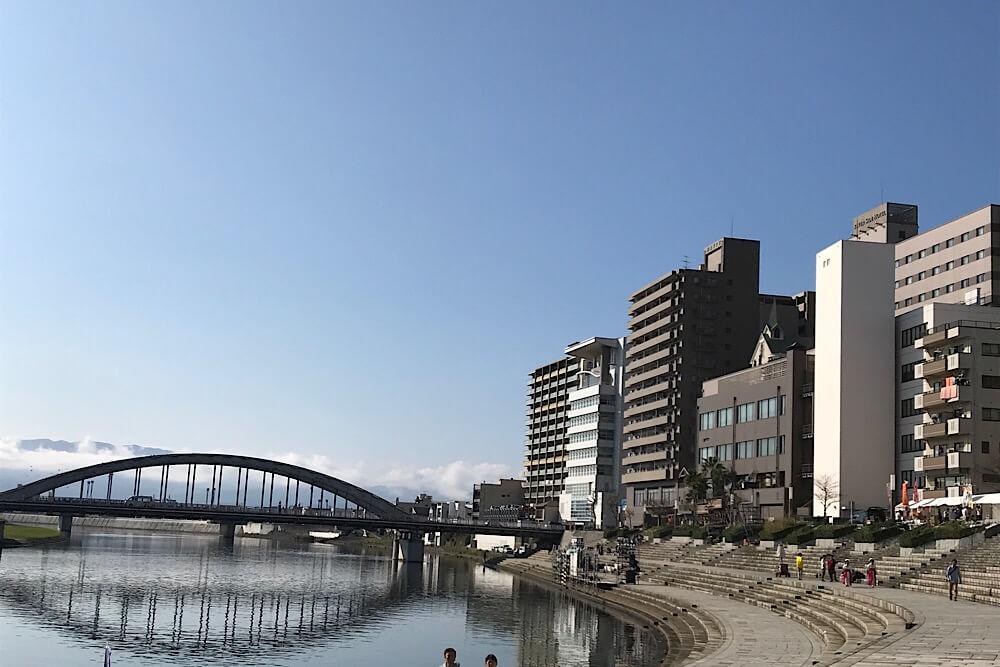 沼津狩野川御成橋